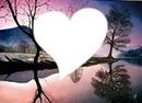 paysage coeur