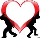 Coeur rouge!