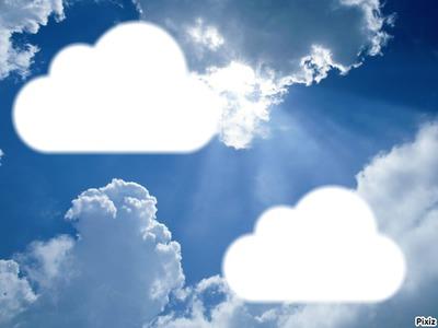 La tête dans les nuages !
