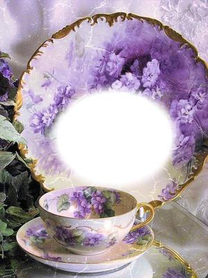 Tasse de porcelaine vintage