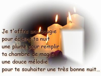 Bonne nuit poème