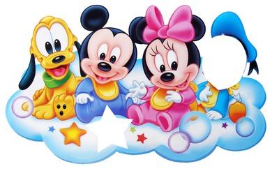 mickey baby & friends