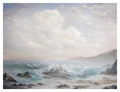 mer rocher ciel 2 photos fondues