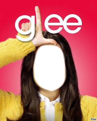 Glee Visage fille Rachel