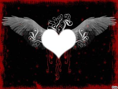 Je t'aime mon ange coeur