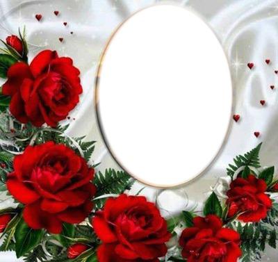 Photo Montage Fleur D Amour Pixiz