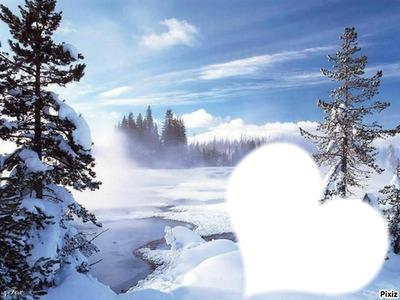 L'hiver...