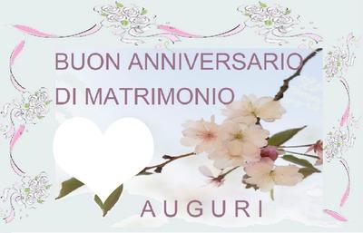 Anniversario Di Matrimonio Un Anno.Fotomontaggio Anniversario Di Matrimonio Pixiz