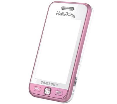 Hello Kitty Samsung Phone