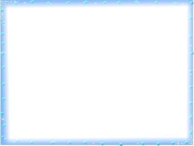 cadre bleu coeurs