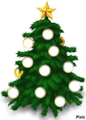 Sapin De Noël .