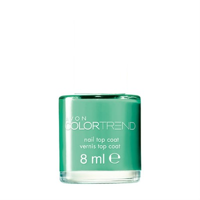 Avon Color Trend Nail Polish Lagoon Green
