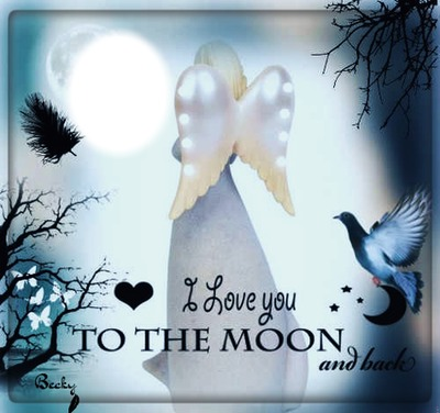 i love you to the moon an back