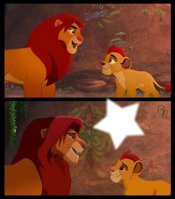 Lion guard,Lion king Simba and Kiara