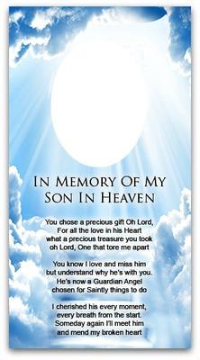 IN MEMORY OF SON