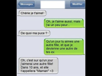 TEXTE D'AMOUR IPHONE