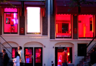 Amsterdam barrio rojo