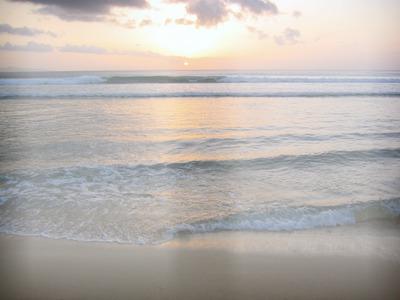 plage soleil couchant 2 photos
