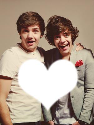 One Direction Harry e Liam