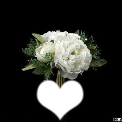 *bouquet de pivoines*