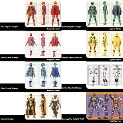 Power Ranger Mystic Force 8 Photos