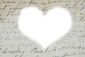 L'amour au cœur d'une feuille...