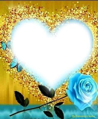 cuore e rosa