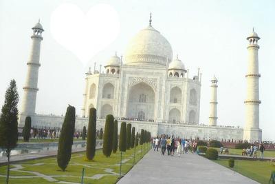 Taj Mahal . Inde