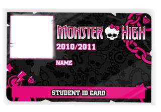 Carnet de Monster High