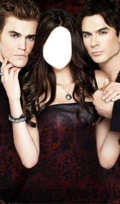 Stefan  Elena e Damon (Girl)