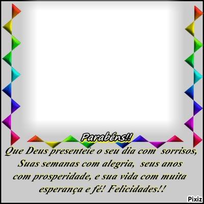 "Parabéns Feliz Aniversário! By""Maria Ribeiro"""