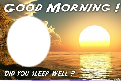 Good morning love oval 1