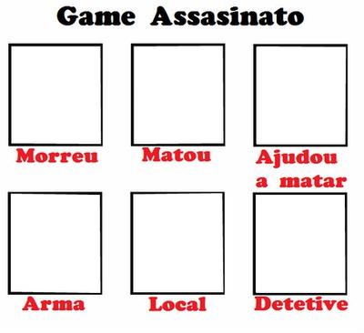 Game para Facebook (game assasinato)