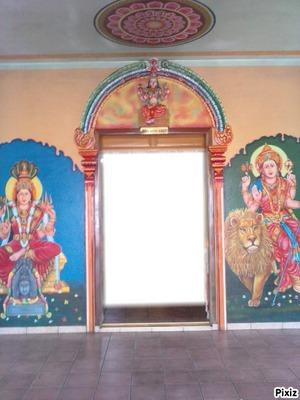 Intérieur chambre Badra Kali lampe citron