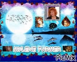 MYLENE FARMER (photo-montage fait par GINO GIBILARO) (voir aussi le site PICMIX pour animation)