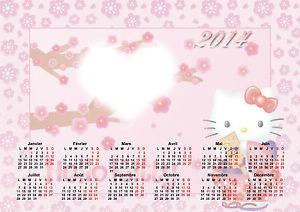 calendrier 2014 hello kitty