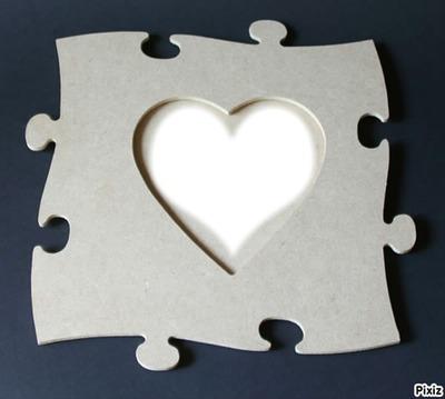 coeur - pièce du puzzle