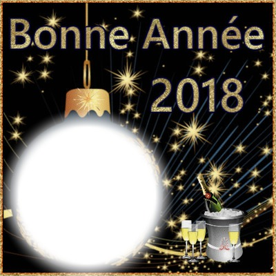 1 photo Bonne Année 2018 iena