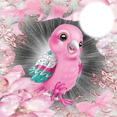 pink angel birdie