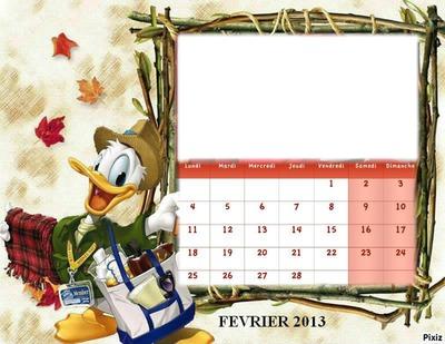 CALENDRIER PICSOU FEVRIER 2013