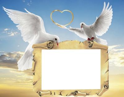 Svatba, láska, srdce