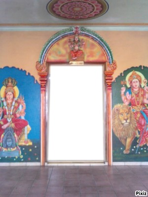 Intérieur chambre Badra Kali lampe citron 2