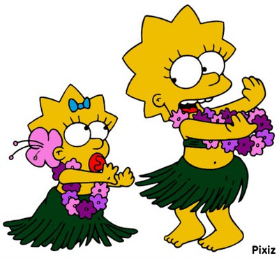 Fond Decran Simpson Lisa