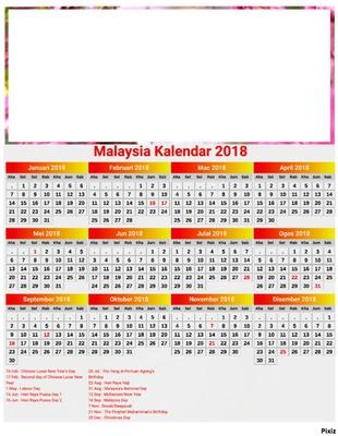 Fotomontagem kalender 2018 malaysia pixiz kalender 2018 malaysia stopboris Image collections