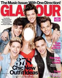 glamour con one direction