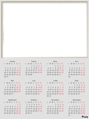 calendrier 2012*