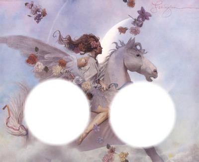 ange cheval ailé