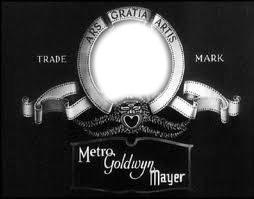 MGM logo black and white