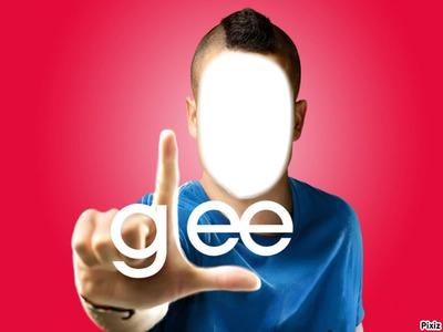 Glee Visage homme Puck
