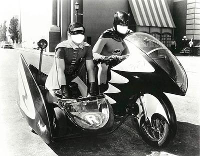 batman and robin cycle
